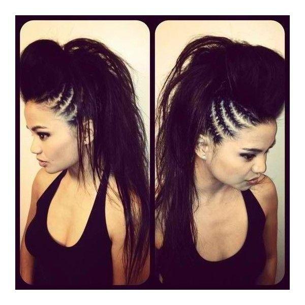 hairstyles punk rocker bad girl
