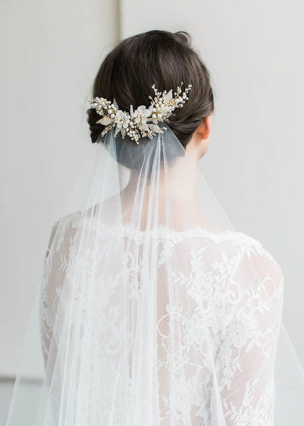 From stunning statement hairbands to the cutest combs, a vintage-inspired wedding hair accessory will elevate even the most simple bridal look.