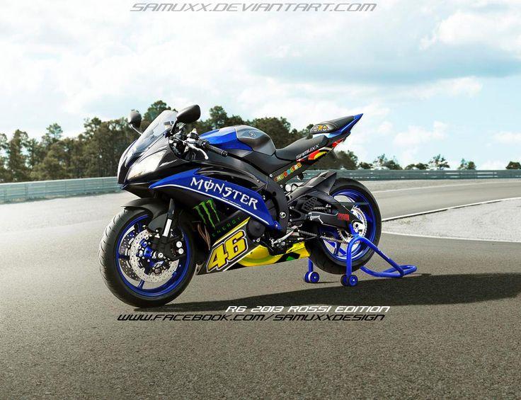 Yamaha r6 2013 Rossi Edition