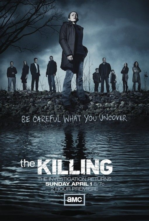 The detective work in 'The Killing' is led by a female who is methodical at discovering the truth and uncovering the guilty if not at the expense of destroying peoples lives along the way.