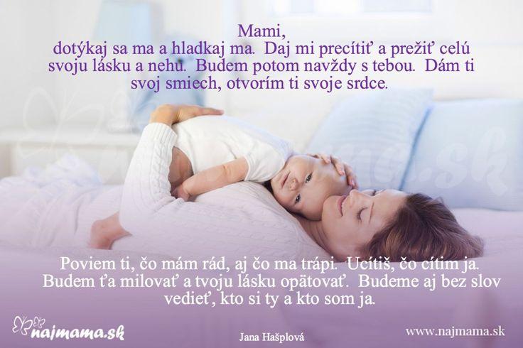 List dieťaťa mame
