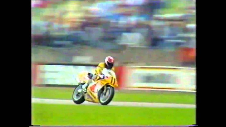 1987 Shell Oils British 500cc Motorcycle Grand Prix