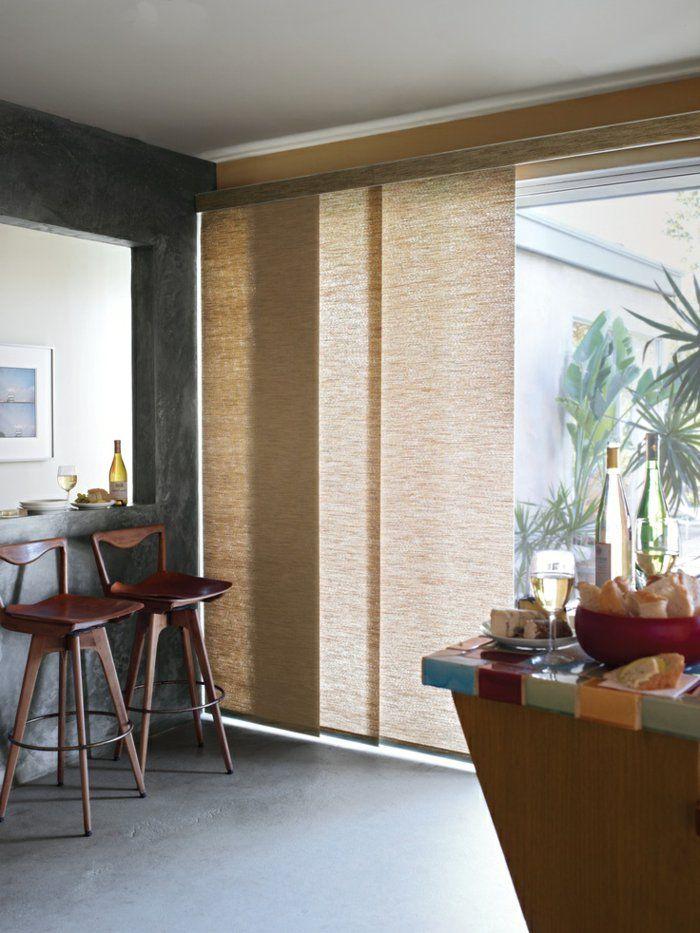 Dalle De Bois Pour Sol Interieur : , sol en lino gris, design d'int?rieur, chaise de bar en bois fonc?