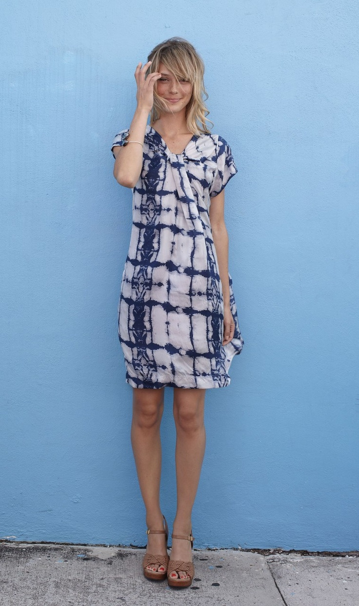 Batik dress - Plümo Ltd
