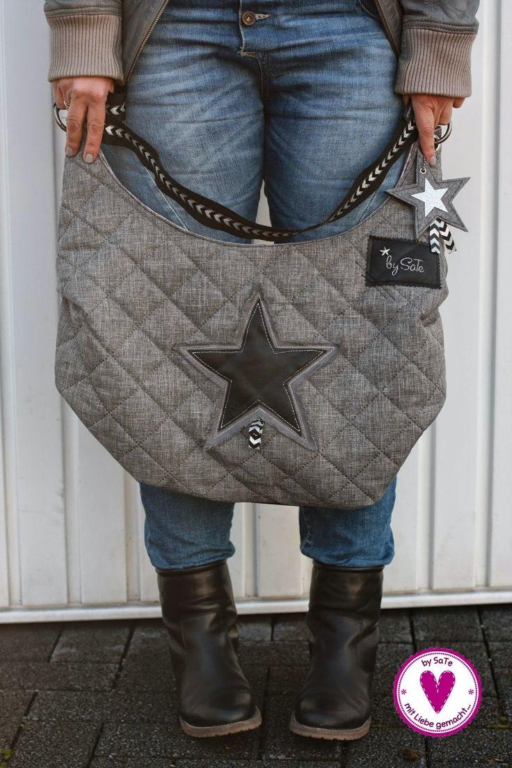 Tasche Hanny mit Sternen