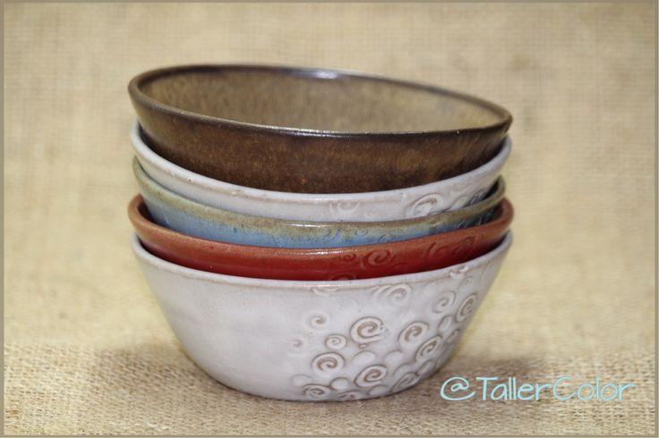 Pocillos @tallercolor  #tallercolor #stoneware #pottery #ceramica
