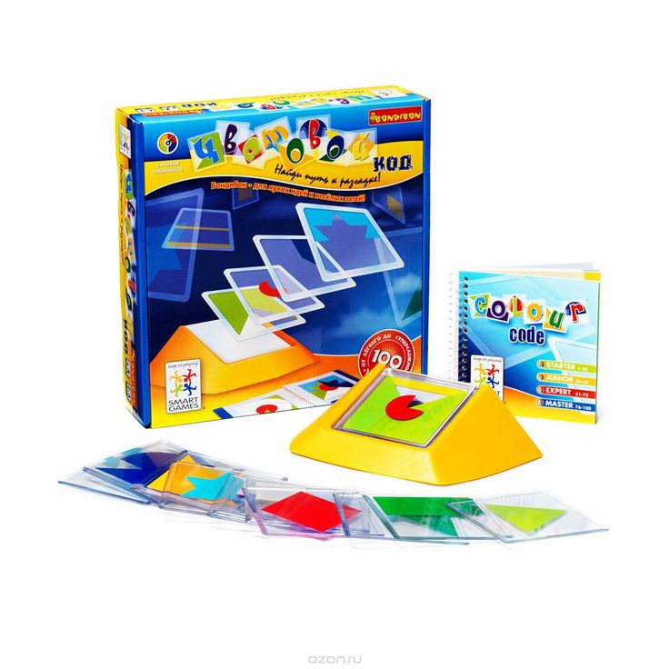 """Логическая игра Bondibon Smartgames """"Цветовой код"""" - купить детские товары с доставкой в интернет-магазине Ozon.ru. Описание и цена логическая игра bondibon smartgames """"цветовой код"""", отзывы покупателей."""