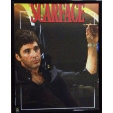 "CLEARANCE Scarface Framed Picture (S4) 8"" x 10"" CLEARANCE Scarface Framed Picture (S4) 8"" x 10"" - can be hung"