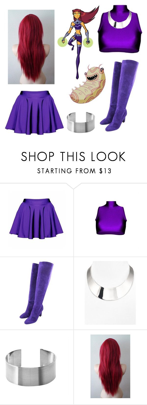 """Star Fire Teen Titans!"" by gryffindorgirl-i ❤ liked on Polyvore featuring Tamara Mellon and R.J. Graziano"