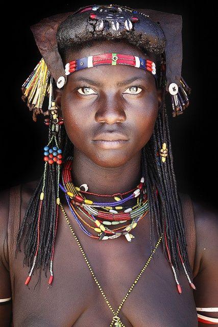Muhacaona  tribe, south Angola