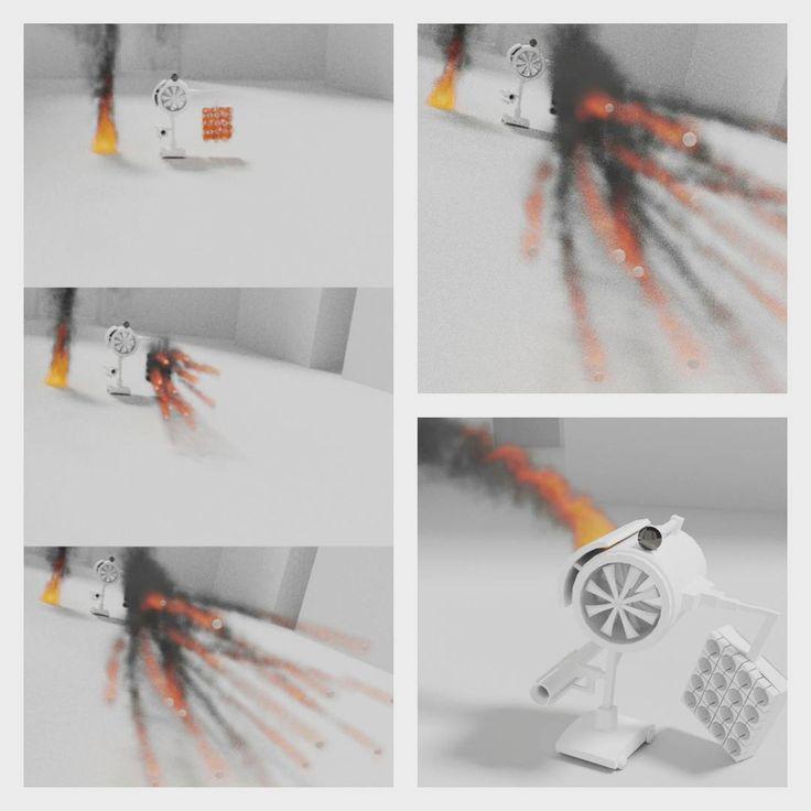 Blender Smoke simlation