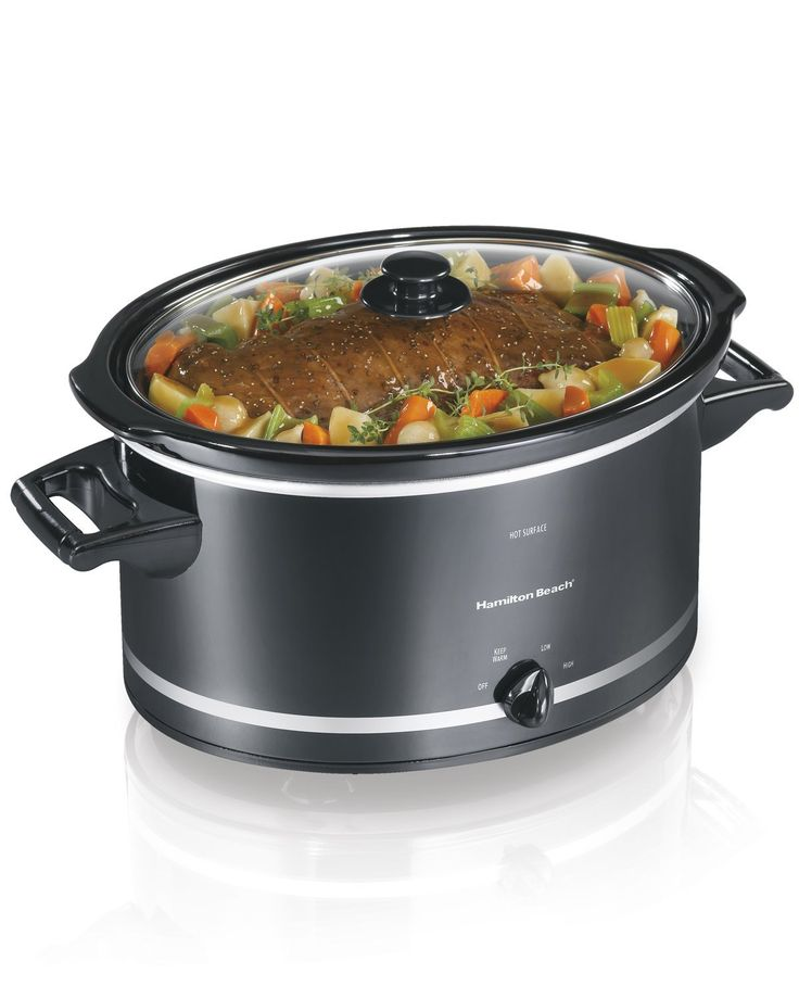 Hamilton Beach Slow Cooker, 8-Quart Only $24.59! (lowest price)