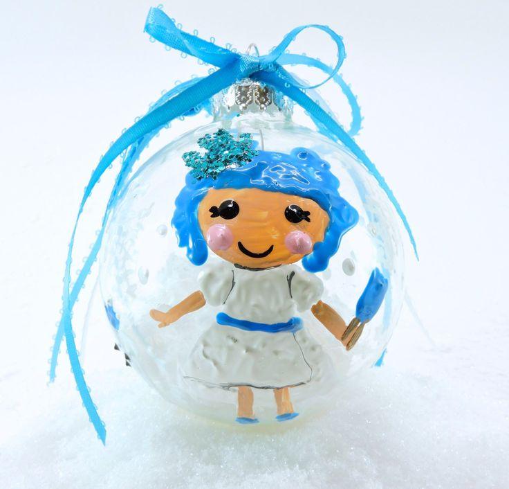 "Fabulous lalaloopsy 3"" glass Christmas ornament Ivory Ice ..."