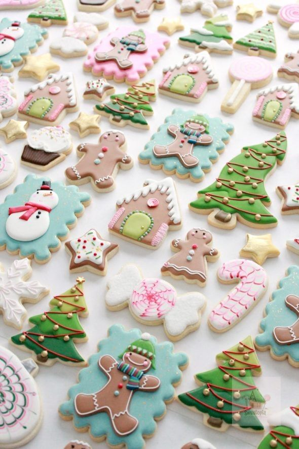 Royal Icing Cookie Decorating Tips Sweetopia Christmas Ideas