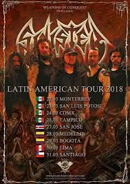 Long Live The Loud 666: SINISTER  LATIN AMERICAN TOUR 2018