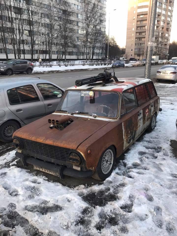 Смешные картинки с русскими машинами