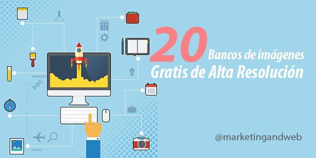 20 Mejores Bancos de Imágenes Gratis de Alta Resolución