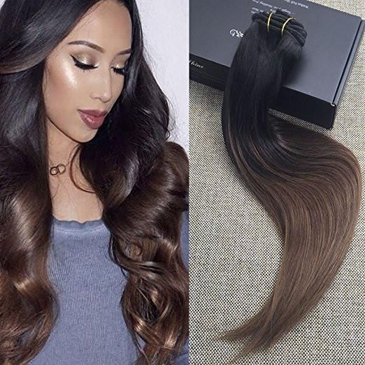 9 best pu clip hair extensions images on pinterest colors hair 10 pcs best hair extensions clip in reviews color 1b fading to 4 full shine pmusecretfo Choice Image