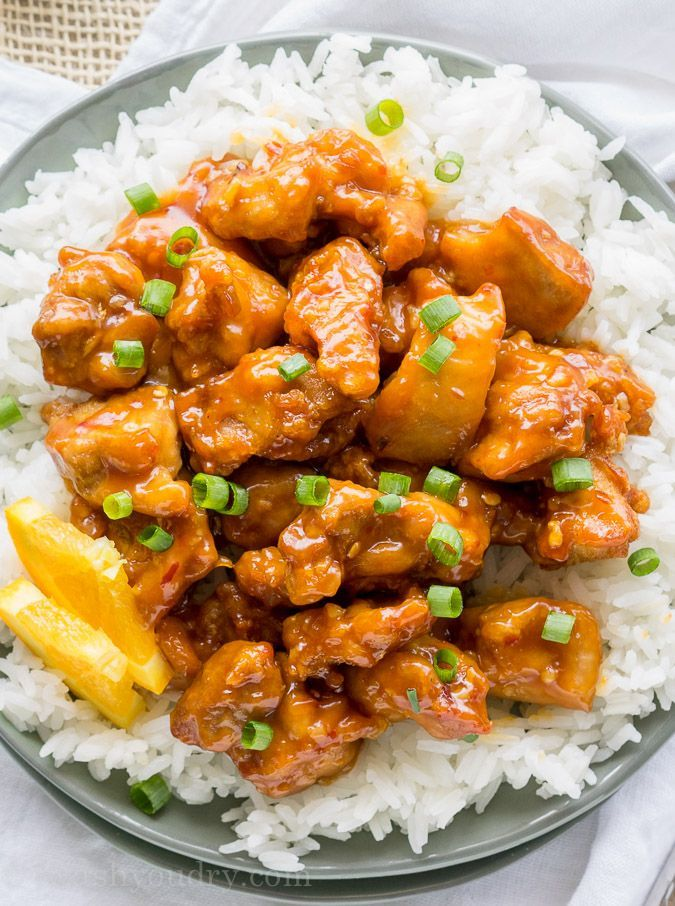 how to make orange chicken sauce easy