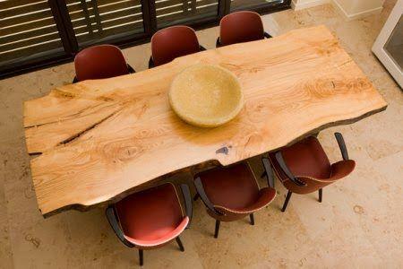 Le bois brute on l'aime à table - The Blog Déco