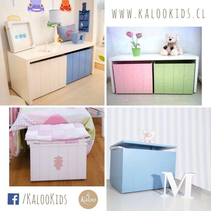 Baúles y Corchete 😊. Recuerda que todos nuestros muebles los puedes cotizar en la medida que necesites 👍🏼 #tiendakalookids #mueblesamedida #hechoenchile #showroom #lobarnechea #kids #home