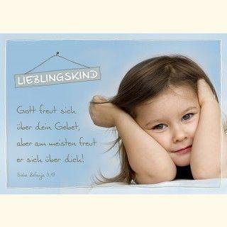 Postkarte - Lieblingskind