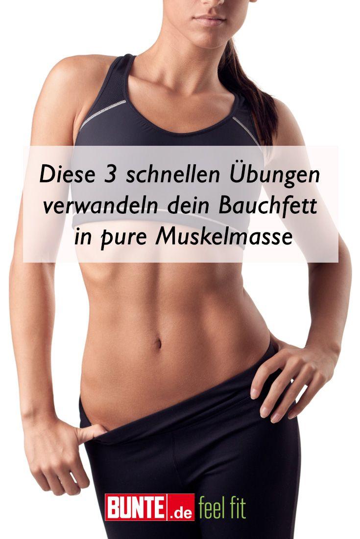 Workout: Flacher Bauch: Diese 3 schnellen Übungen verwandeln dein Bauchfett in pure Muskelmasse – Indoor Sport
