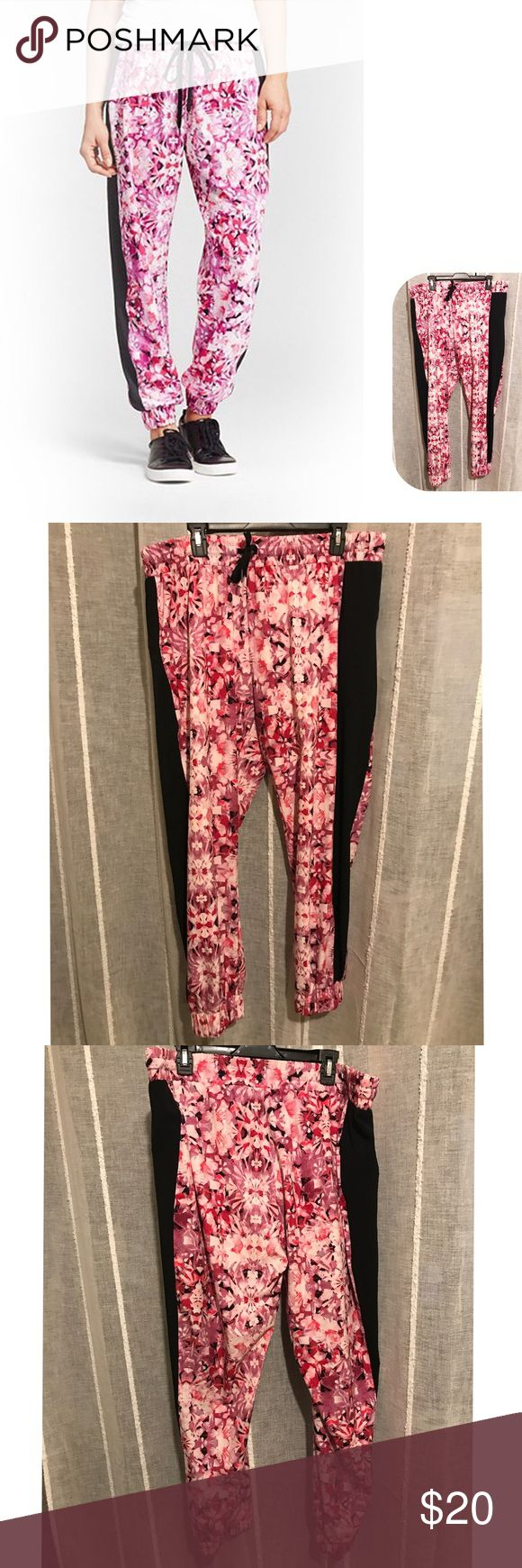 NWOT plus size floral track pants Brand: Champion Size: XXL Description: super comfy floral track pants. Jogger style with zipper pockets. Condition: New without tags  Other tags: athletic wear, workout, yoga, running Champion Pants Track Pants & Joggers
