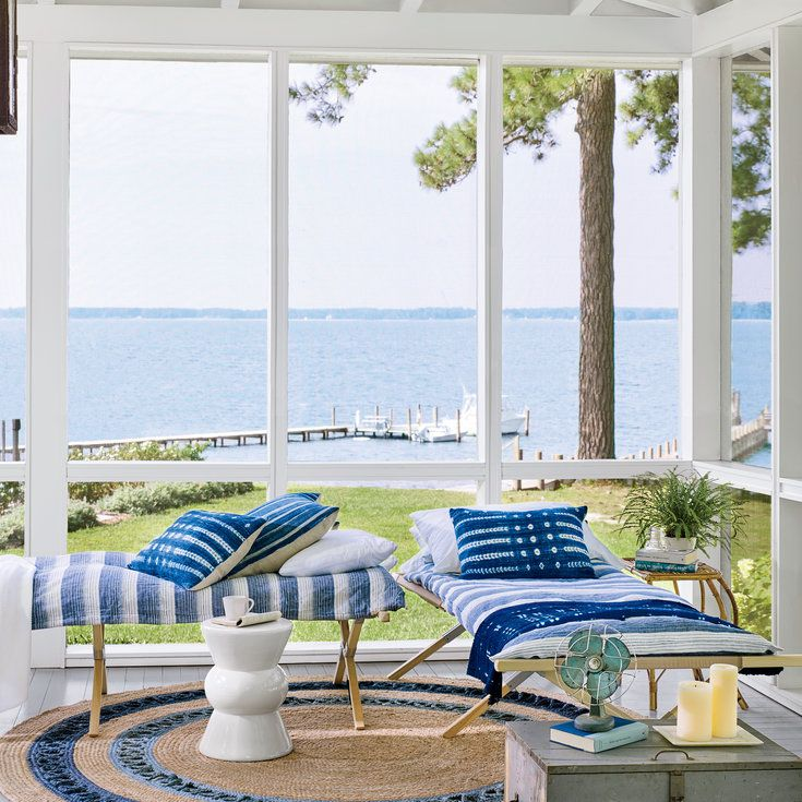 10 Decorating Lessons for a Summer-Ready Porch - Coastal Living
