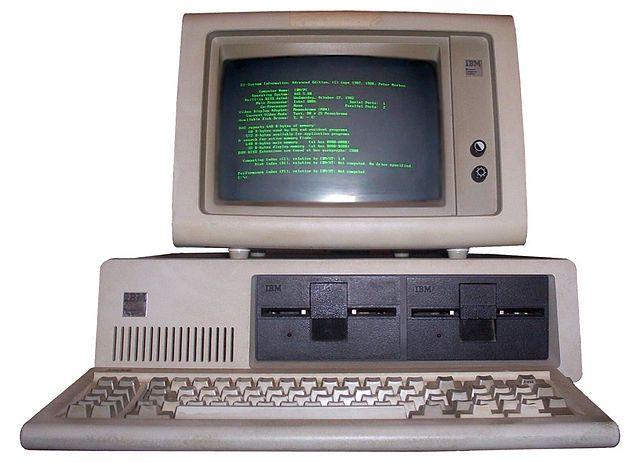 IBM_PC_5150 - 1981-1985 / Quand l'État vous disait qu'Internet n'avait aucun avenir.