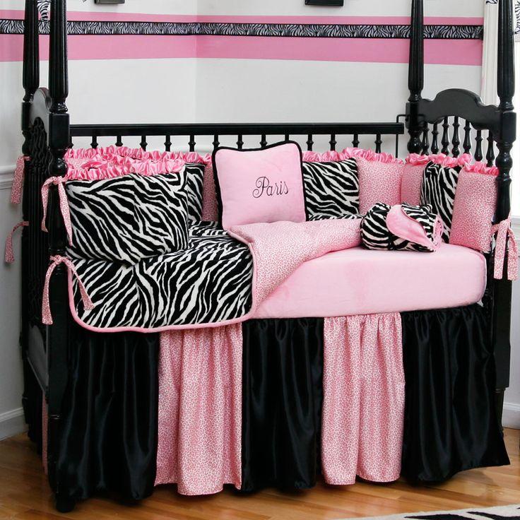 Best Crib Bedding Sets Images On Pinterest Cribs Crib - Baby girl zebra crib bedding sets