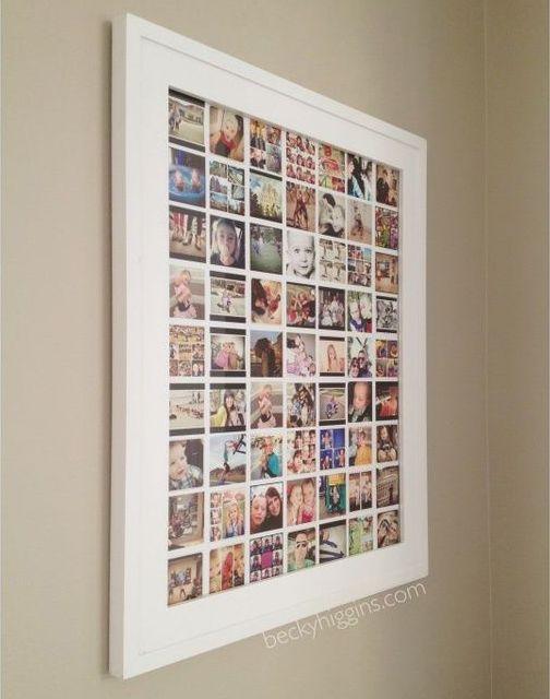 Oltre 25 fantastiche idee su cornici da galleria su pinterest cornici per foto dorati parete - Idee per cornici ...