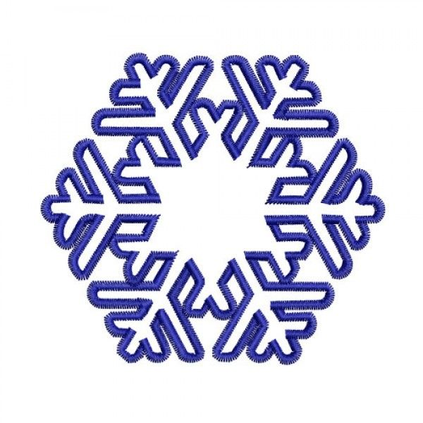 snowflakedesign | Snowflake Celtic Knot Embroidery Design