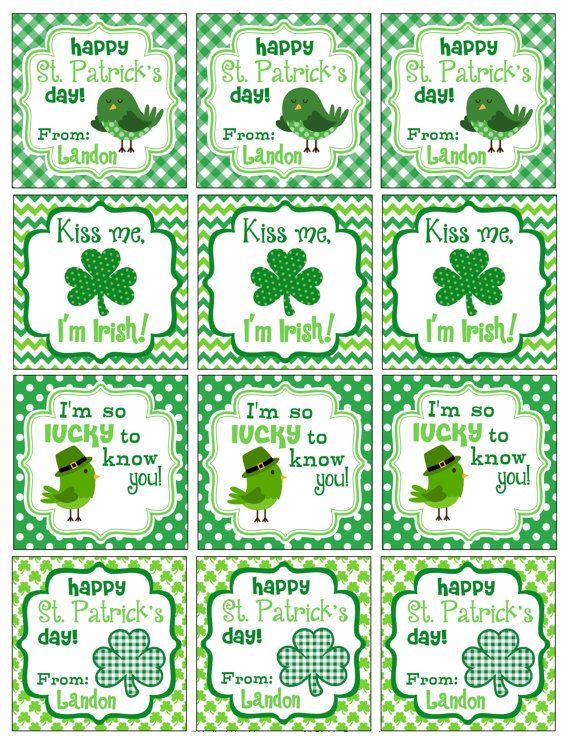 St. Patricks Tag
