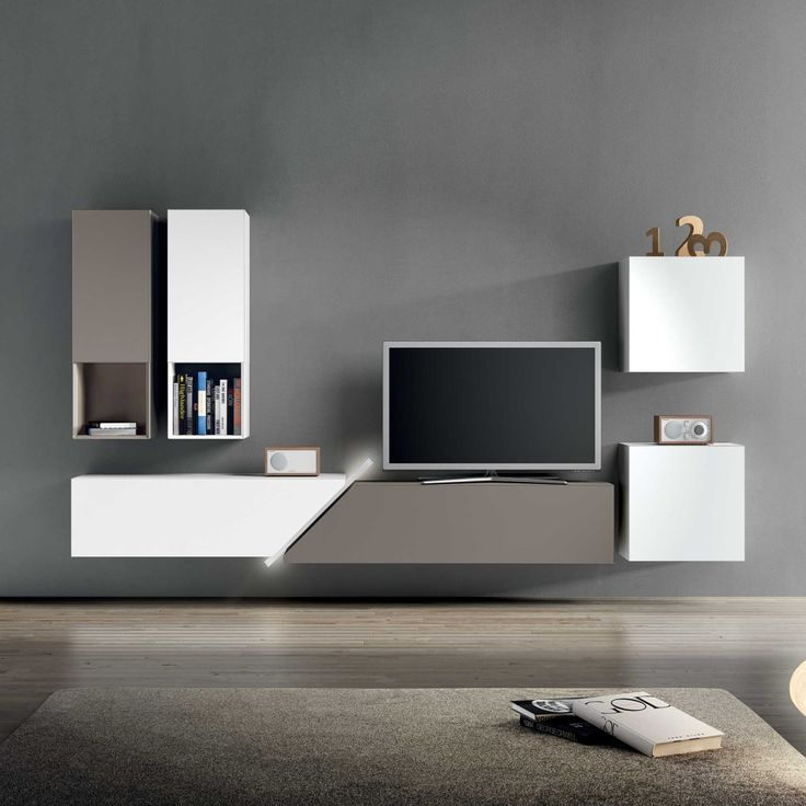 15 modern tv wall units for your living room - Modern Tv Wall Design