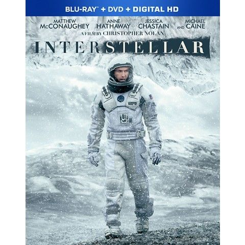 Interstellar (2 Discs) (Includes Digital Copy) (UltraViolet) (Blu-ray/DVD) (W) (…