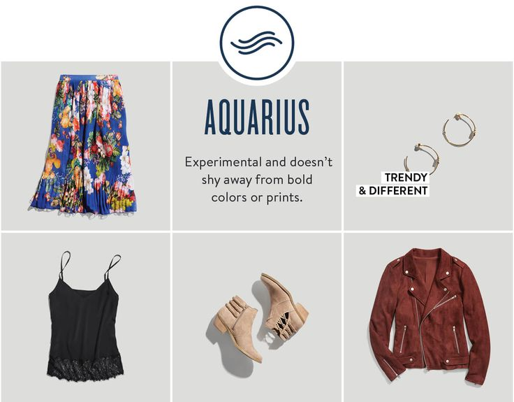 What Your Zodiac Sign Says About Your Style Floral Maxi Skirts Neutral Colors And Red Jackets