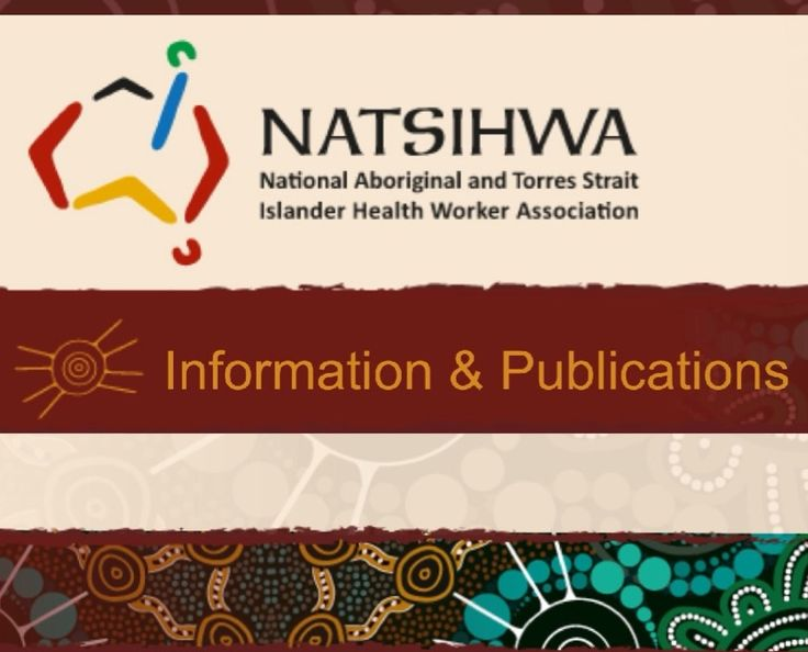 The National Aboriginal and Torres Strait Islander Health Worker Association (NATSIHWA) is the professional association for Aboriginal and Torres Strait Islander Health Workers (ATSIHWs) in Australia. * * * Information, education, how to become a health worker, continuing education, scholarships.