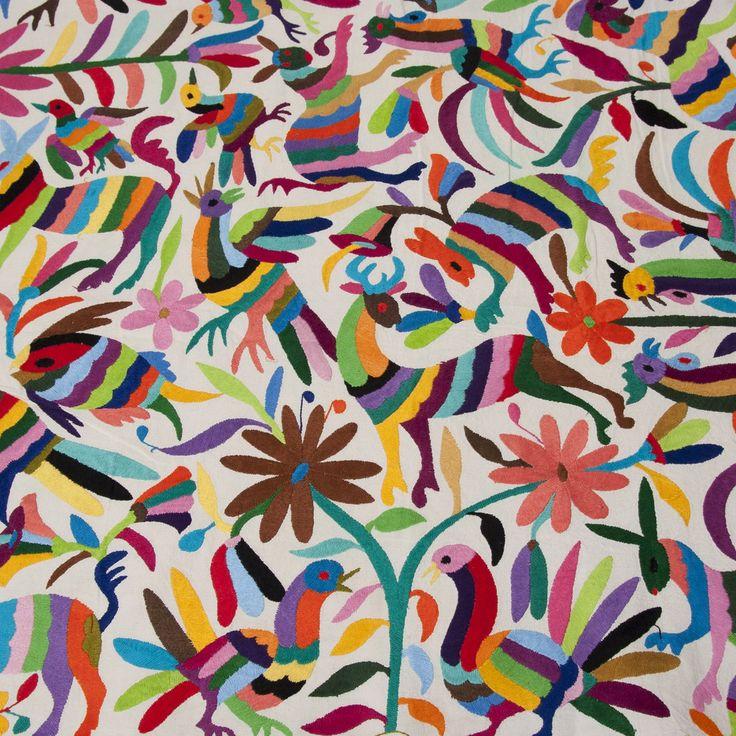 Les textiles Otomi, un artisanat mexicain - Plumetis Magazine