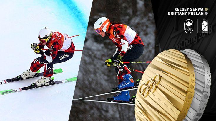 Serwa and Phelan finish 1-2 in women's ski cross at PyeongChang 2018