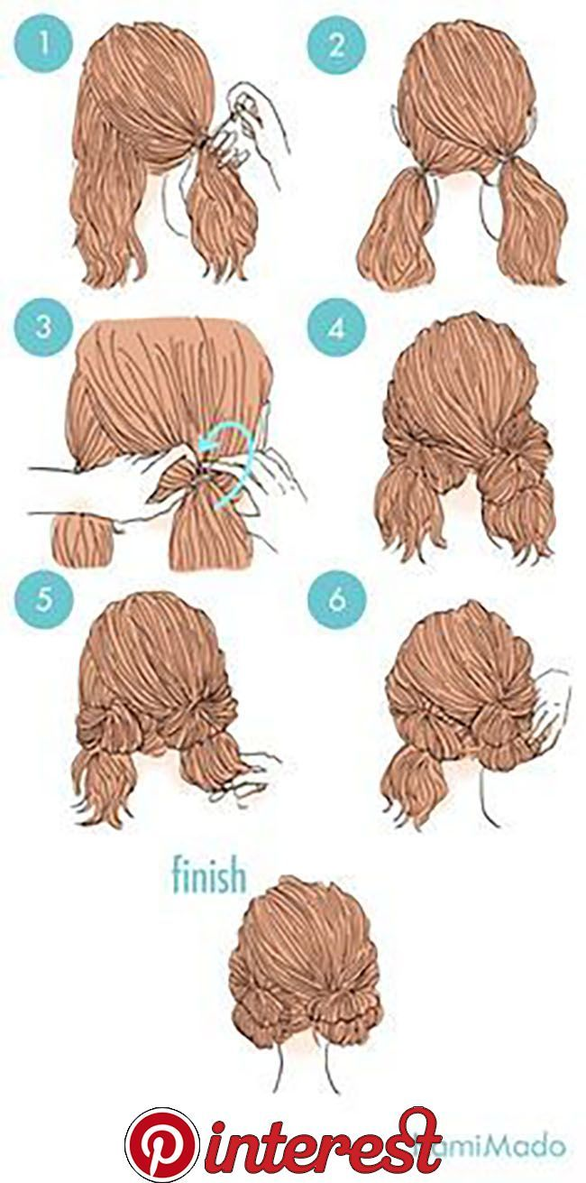 10 Easy And Cute Hairstyles That Can Be Done In Just A Few Minutes