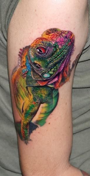 103 mejores imgenes de Tattoos Echsen Lizards en Pinterest
