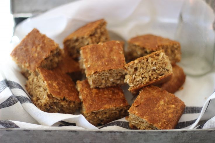 Beat the afternoon blues Banana Oat Slice