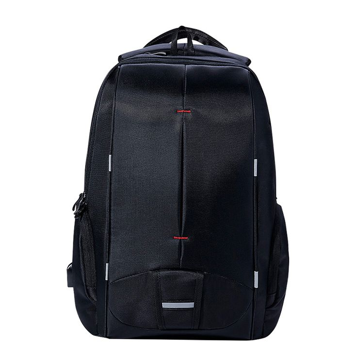 KALIDI Waterproof Men Laptop Backpack 15.6 inch Business Travel Fashion Black Notebook Backpack School Bag Mochilas Hombres