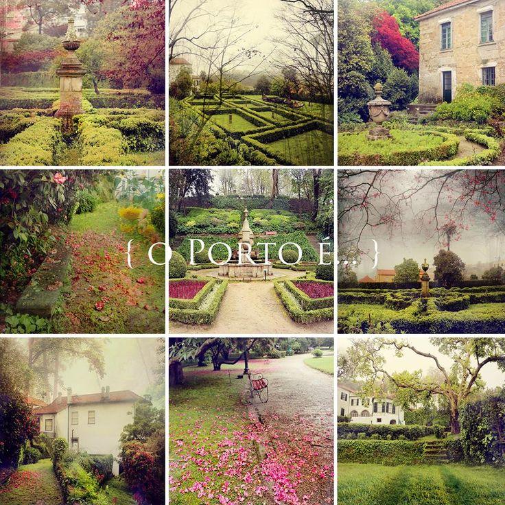 os jardins romanticos