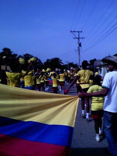celebrando el 7 de agosto en la INEAGRO SANTA CRUZ