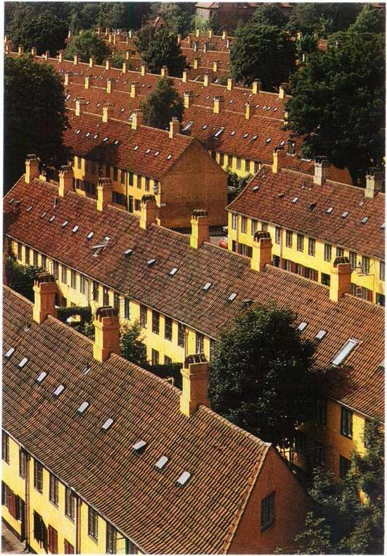 Nyboder - construction started 1631.
