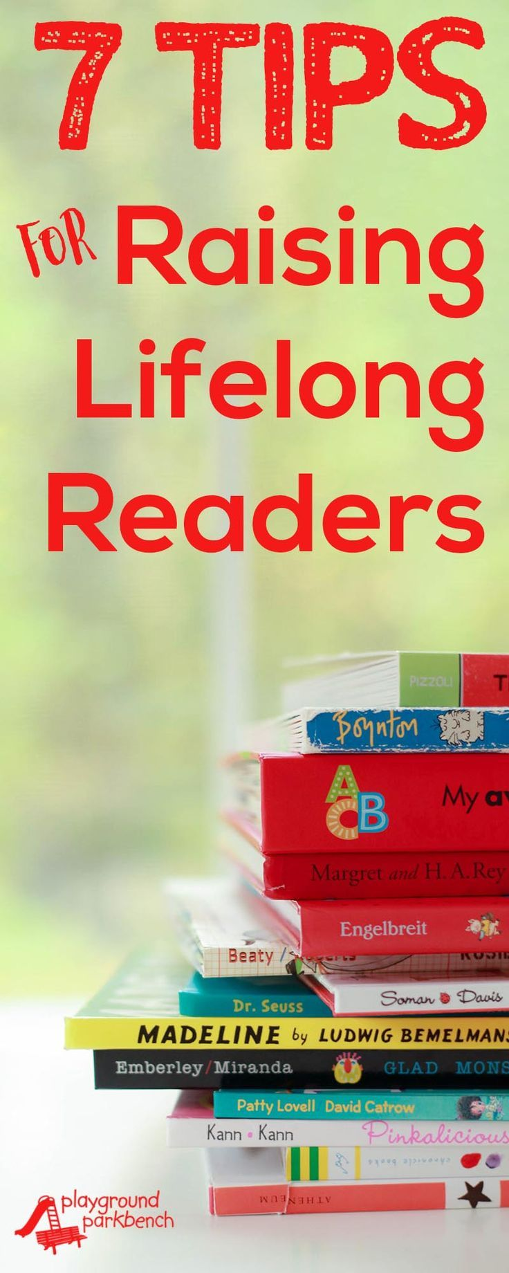 Do you want to support your child's early reading skills at home? These 7 tips and parent reading resources will help you turn your kids into lifelong readers with a love of books!   Raising Readers   Preschool   Early Literacy   Early Education   Early Reading   #ad