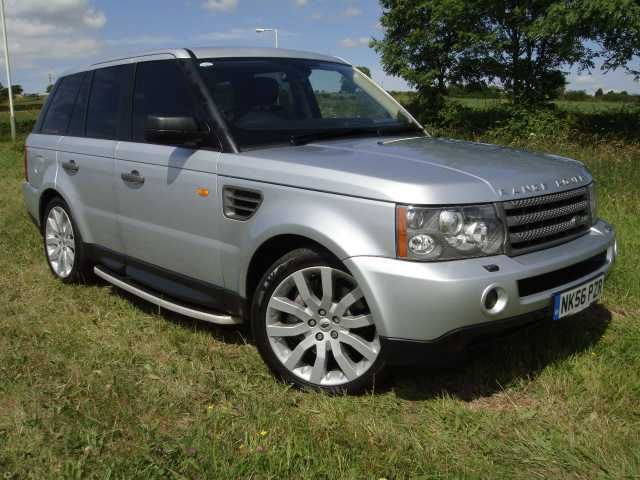 2006 Range Rover Sport 2.7 TDV6 HSE 5-door automatic in silver. Massive spec. Fantastic condition. Full Land Rover service history.