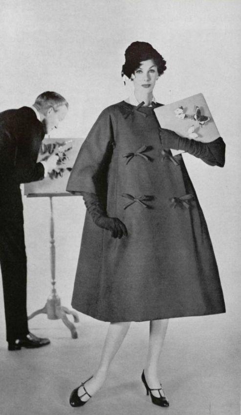 1958 Yves Saint Laurent For Christian Dior Vintage Designers Pinterest Christian Dior